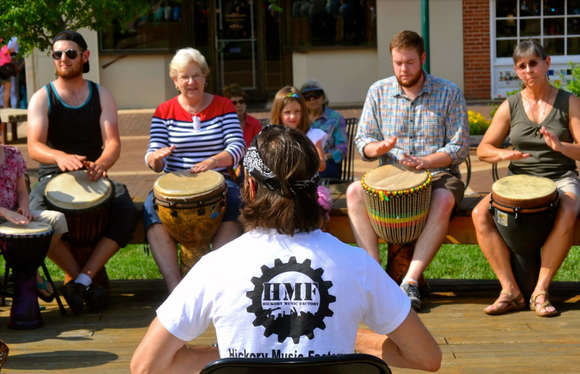 Drumming with the Hickory Music Factory