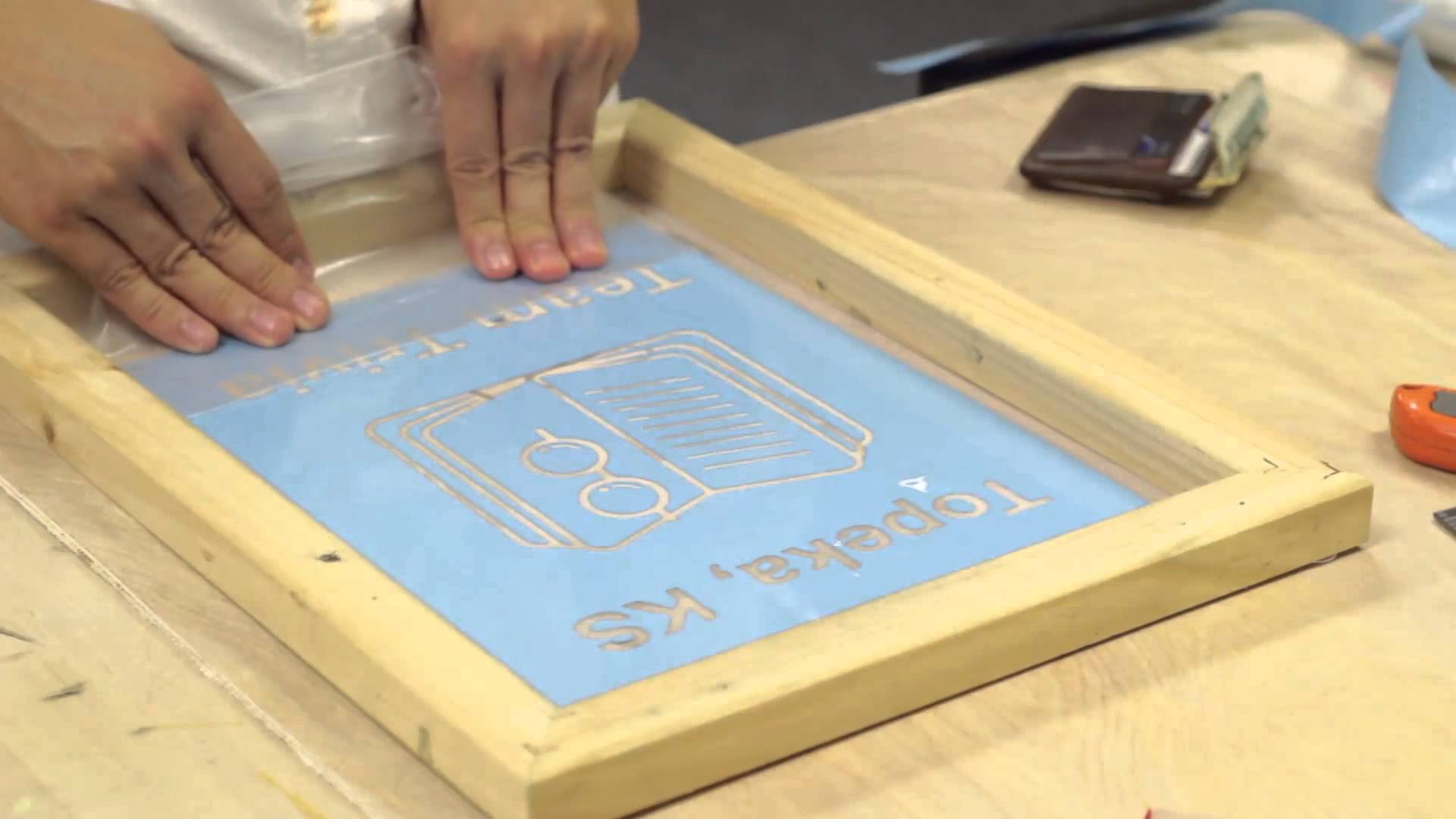 Learn to Screen Print