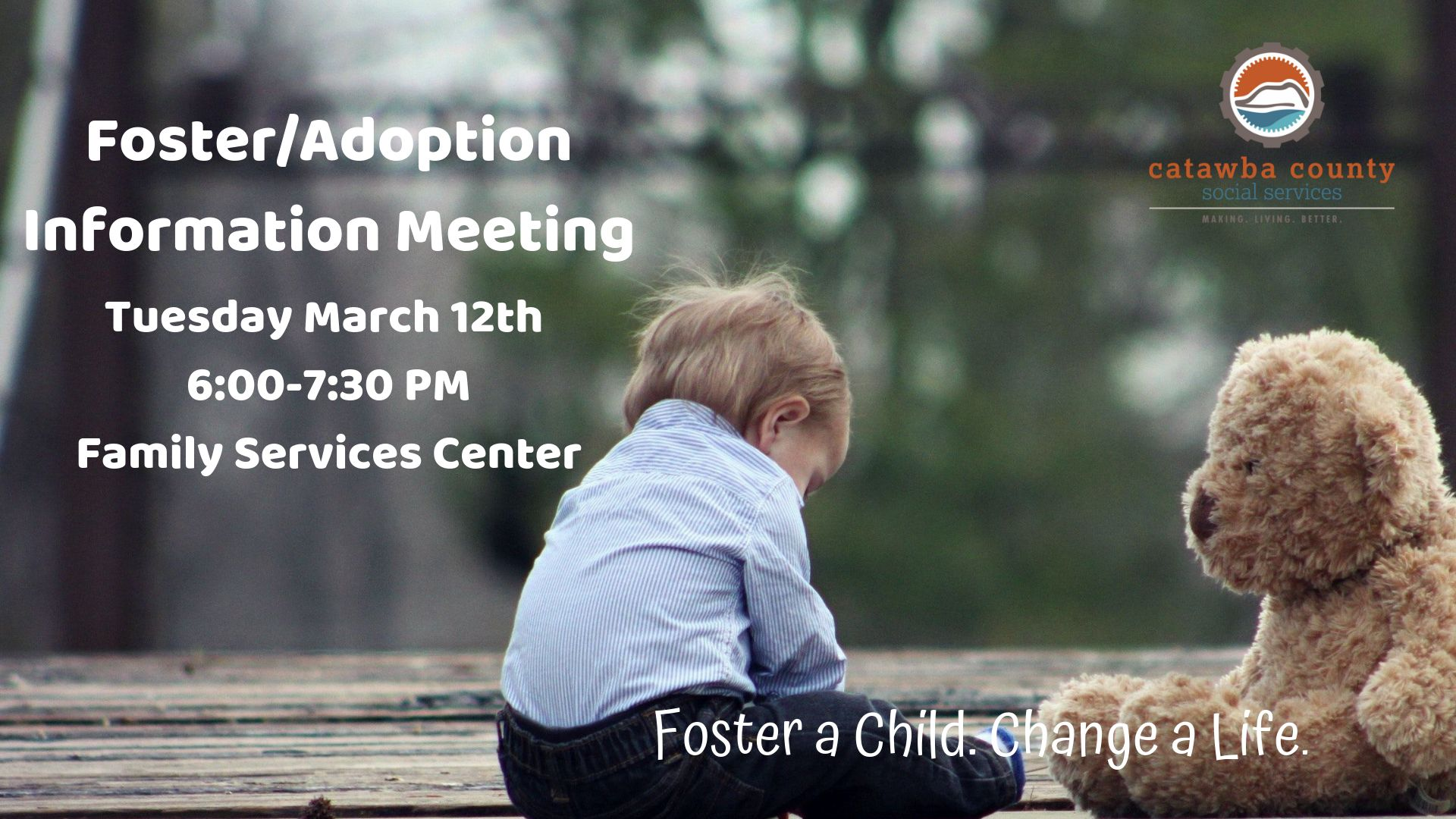 Foster/Adoption Information Meeting - 3/12/19