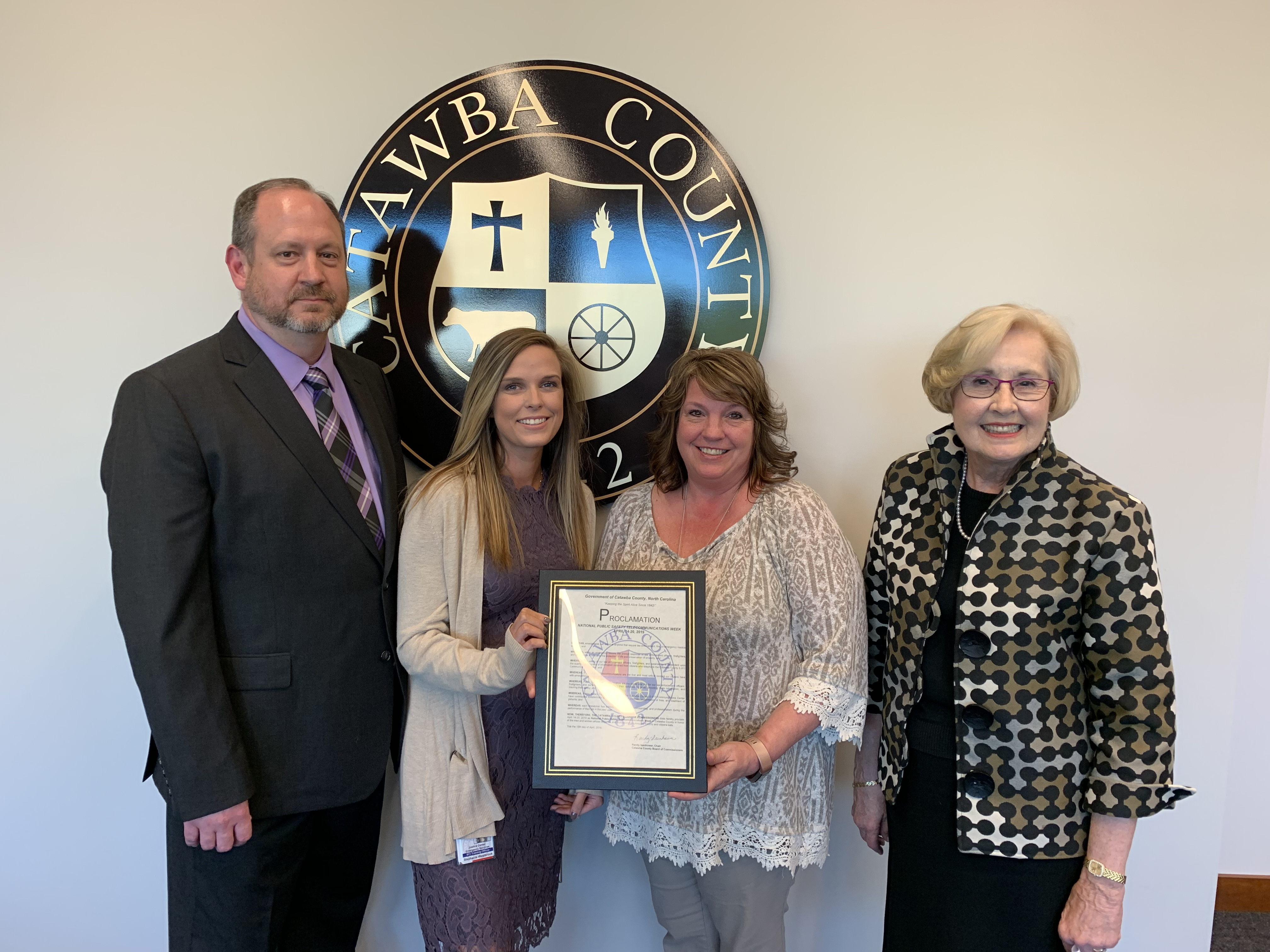 Catawba County Recognizes Telecommunicators Week