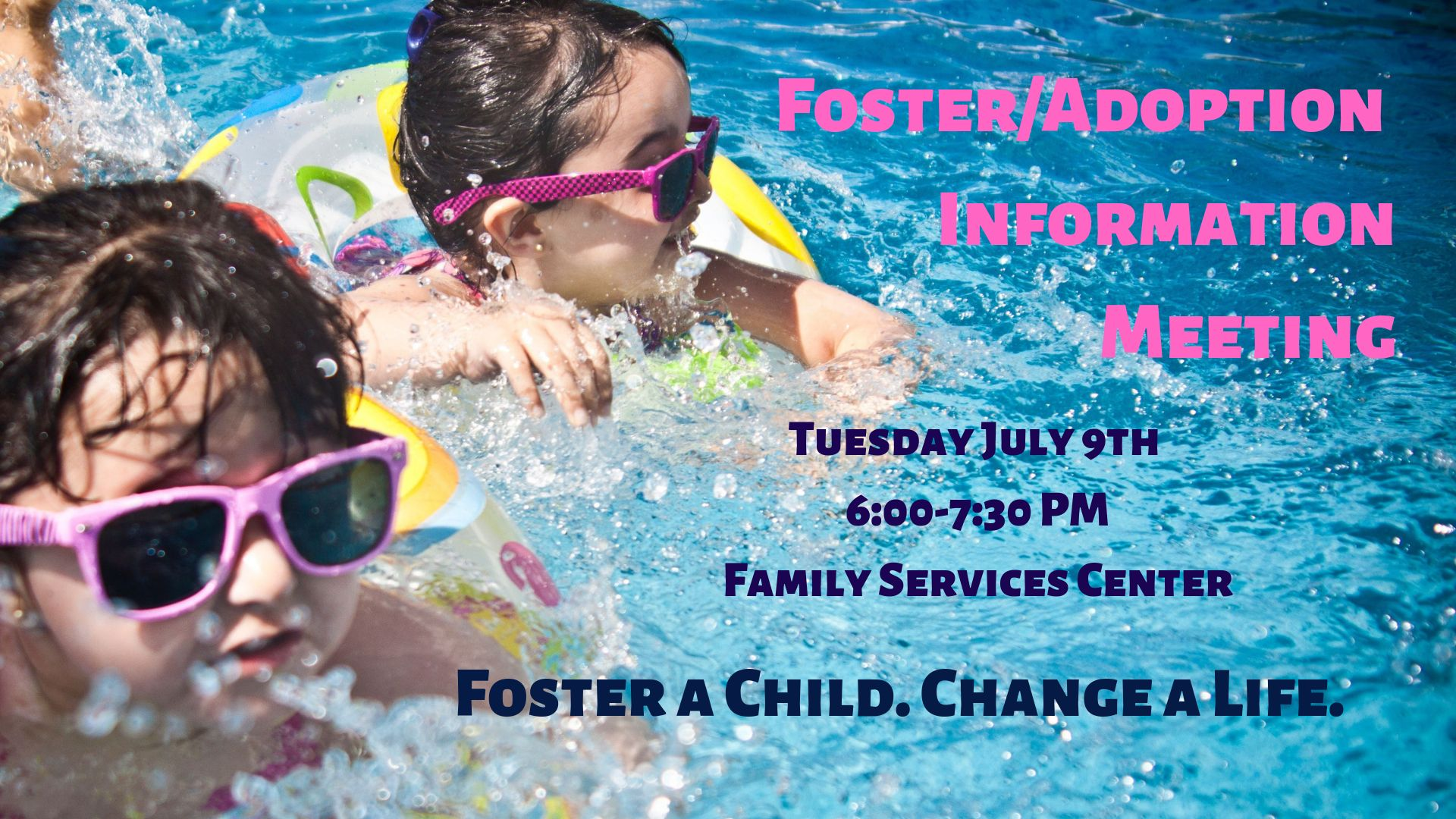Foster/Adoption Information Meeting July 9 2019