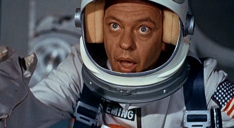See 'The Reluctant Astronaut'
