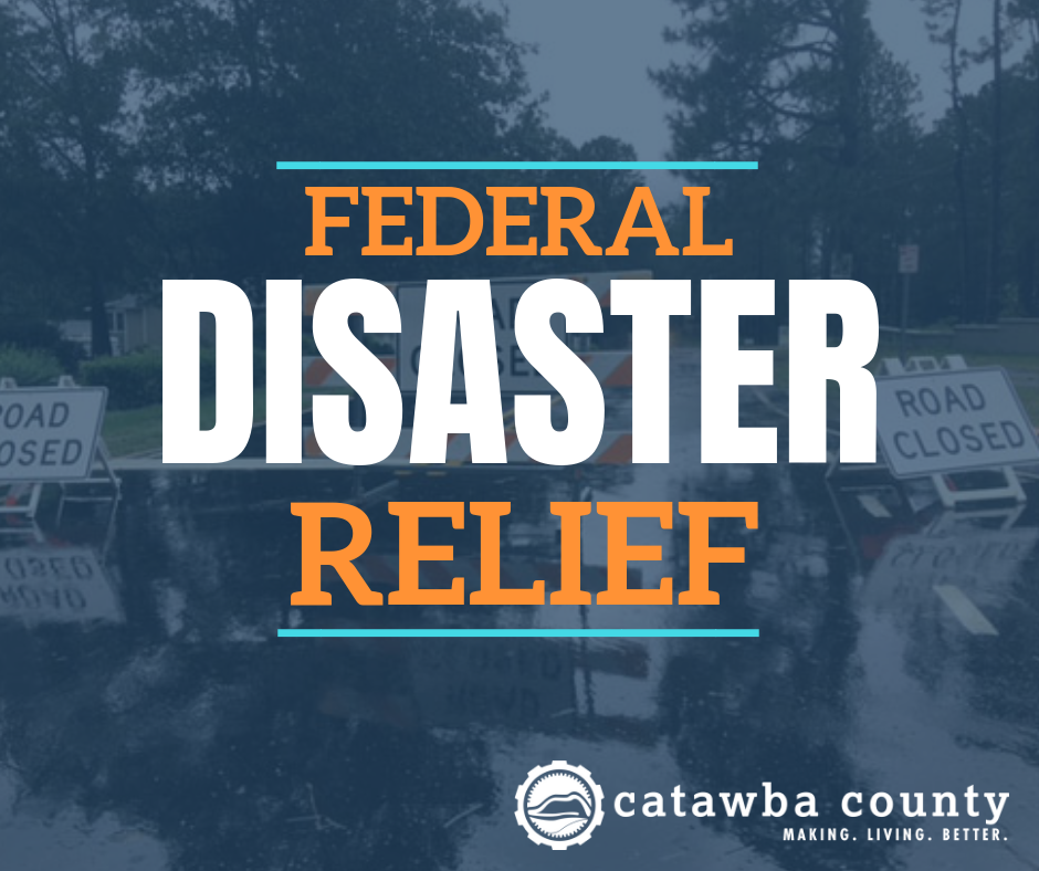 Federal Flood Relief Available to Catawba County Residents