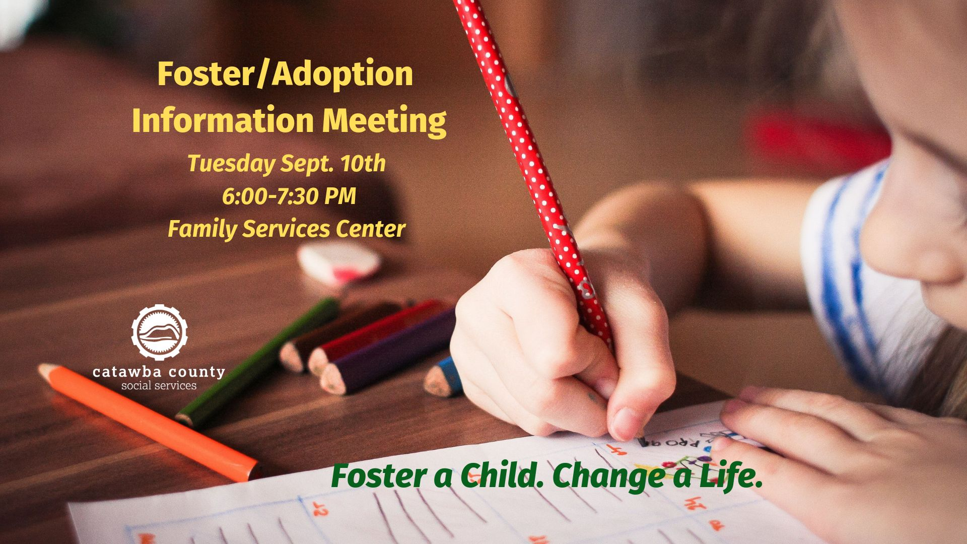 Foster/Adoption Information Meeting 9-10-19
