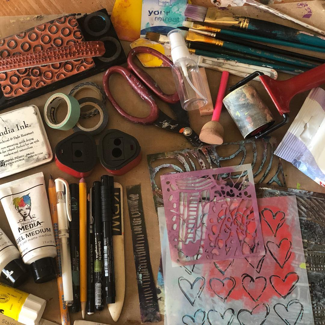 Take Part in Our Mixed Media Studio