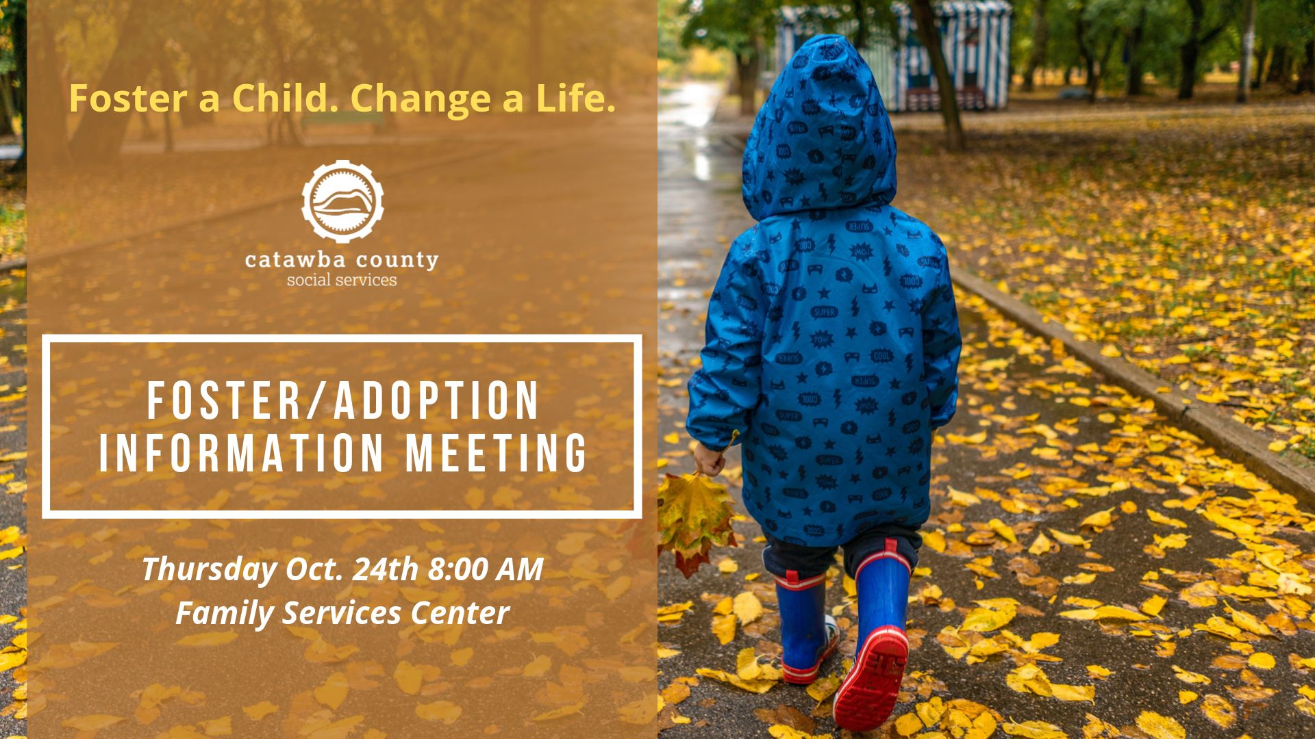 Morning Foster/Adoption Information Meeting 10-24-19