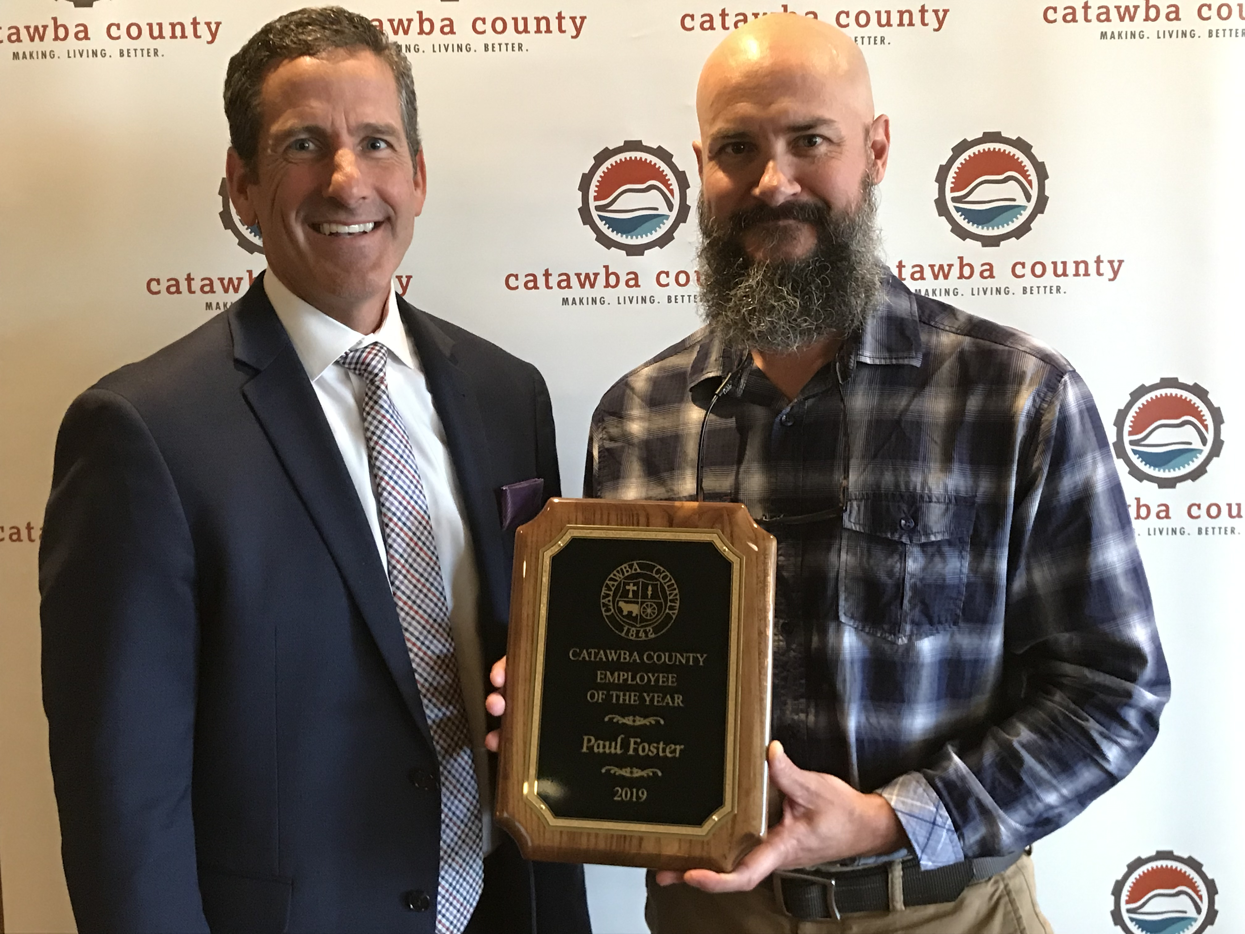 Catawba County Employee of the Year and Team Awards Announced