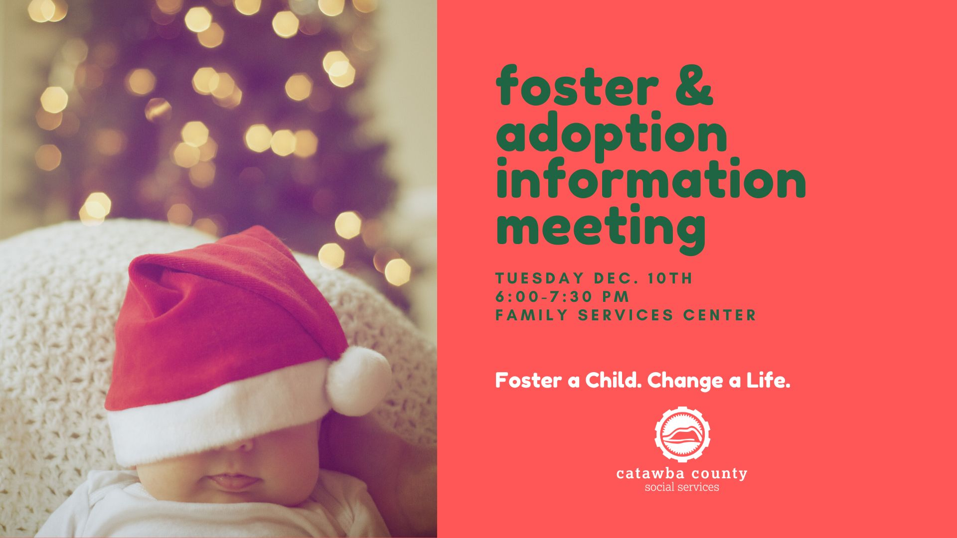 Foster/Adoption Information Meeting 12-10-2019