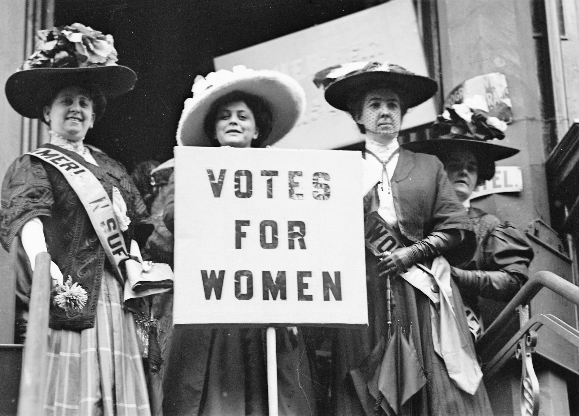 The Suffrage Centennial Begins