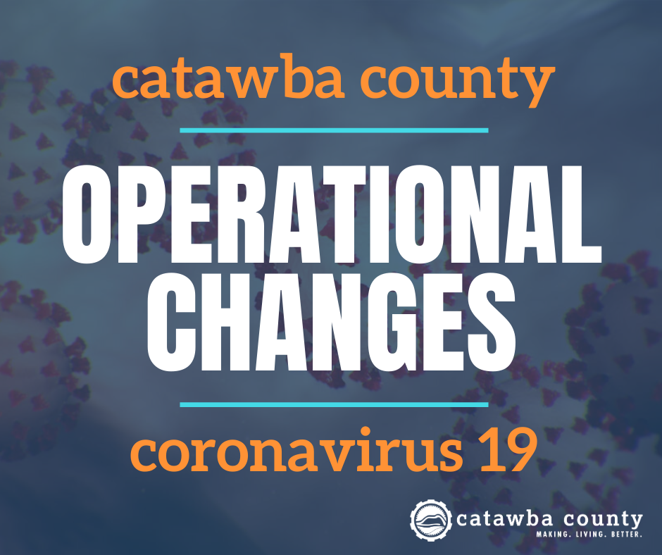 Catawba County Operational Changes