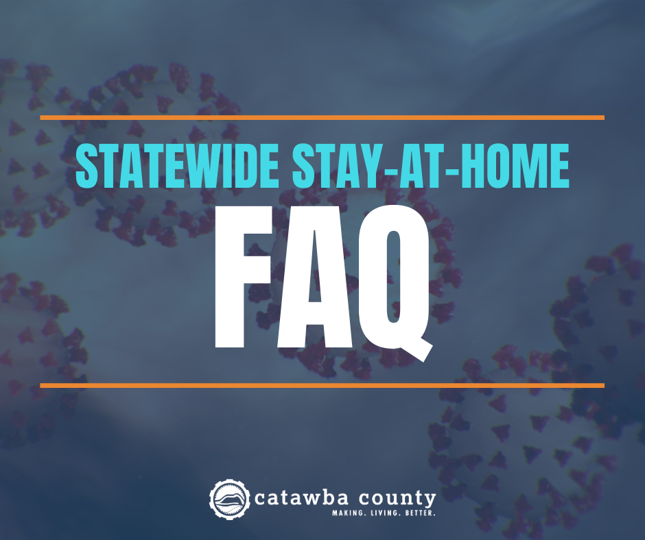 FAQ: Statewide Stay-at-Home Order