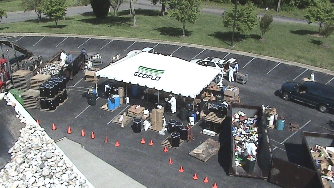 Residential Household Hazardous Waste Collection Event May 2