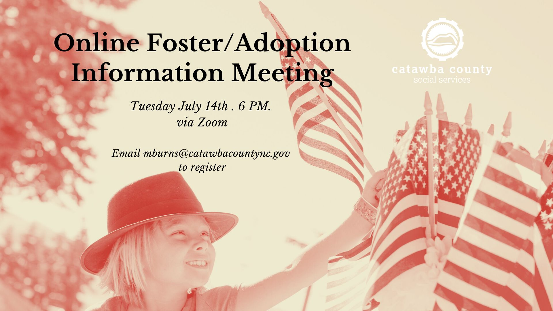 Online Foster/Adoption Information Meeting July 14