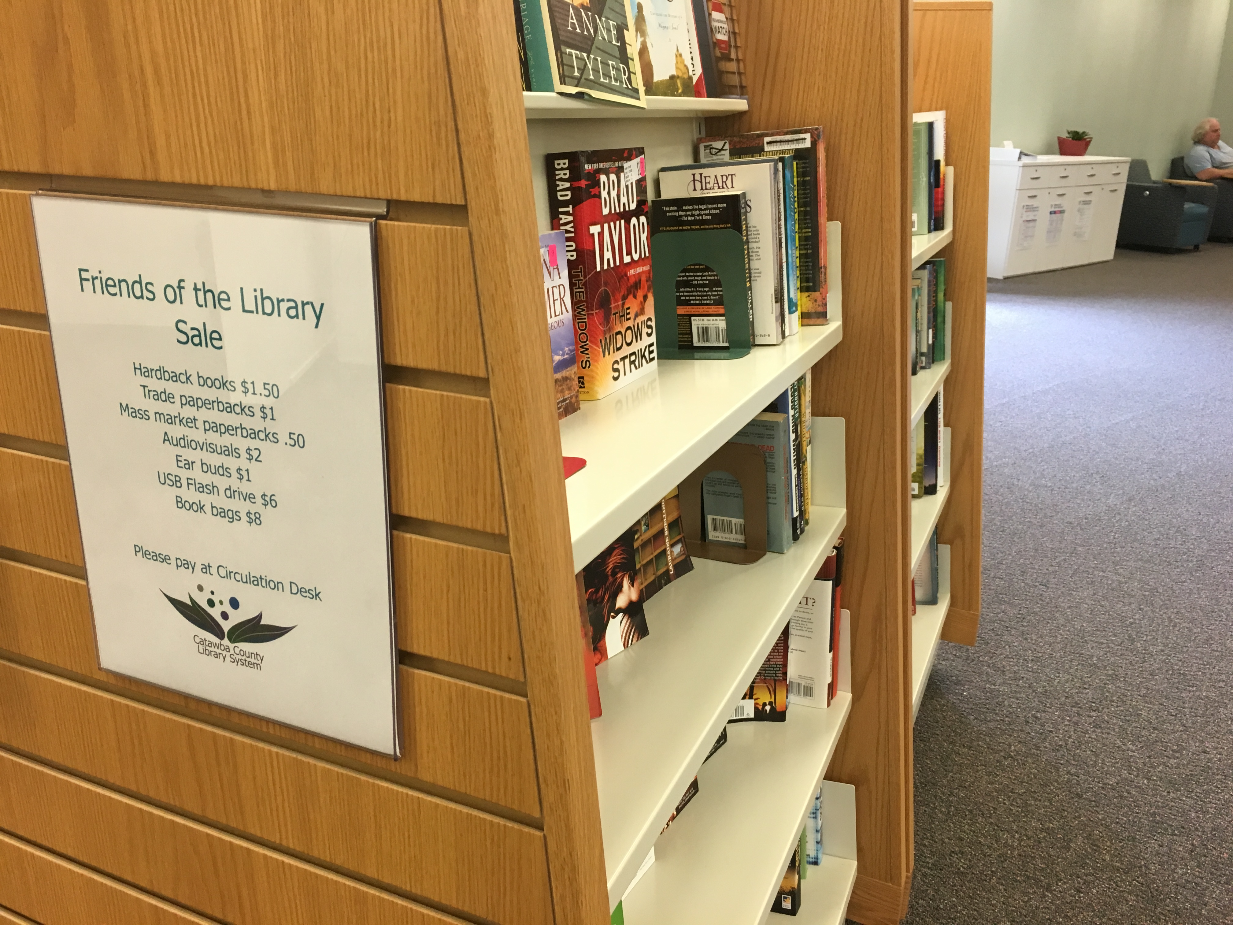 Friends of Library Offer Ongoing Book Sales